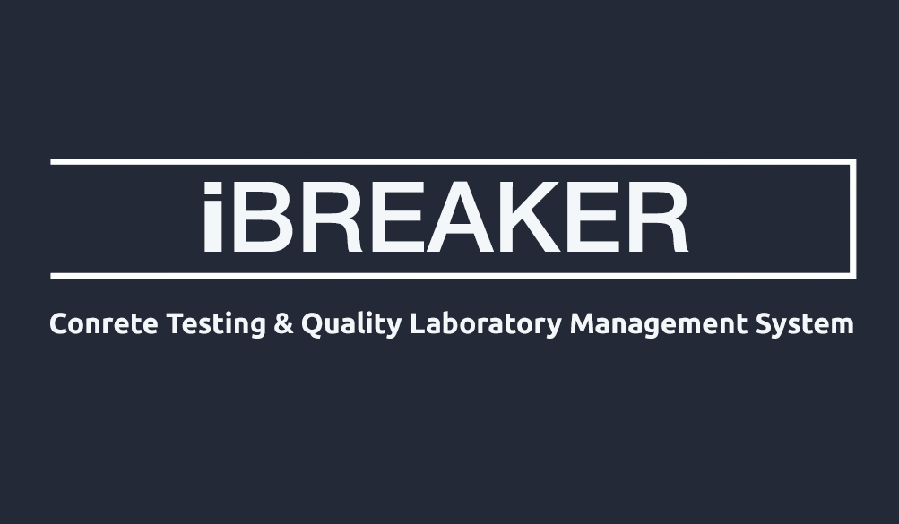 Conrete Testing & Quality Control Laboratory Management System - iBreaker
