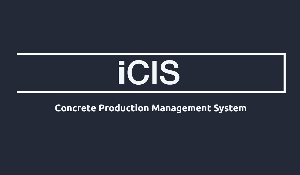 Concrete Production Management System iCIS