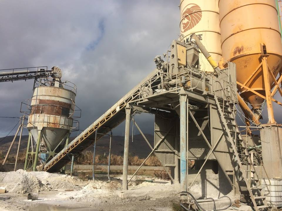 Automation system upgrade with iConcrete - Concrete production Automation system for SYNERGATIKI BETON at Karystos, Greece